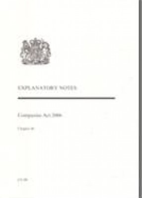 Companies Act 2006 Explanatory Notes