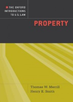Oxford Introductions to US Law: Property