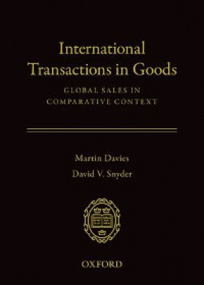 International Transactions in Goods: Global Sales in Comparative Context