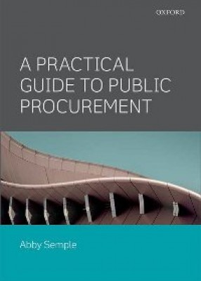 Public Procurement: Law, Policy and Practice