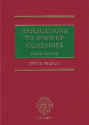 Applications to Wind Up Companies 3e