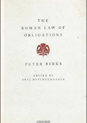 Roman Law of Obligations (pb)