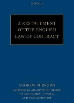 Restatement of the English Law of Contract (pb)