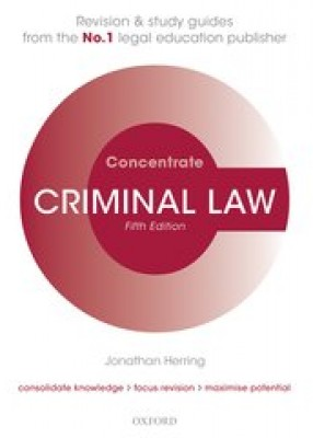 Criminal Law Concentrate (5ed)