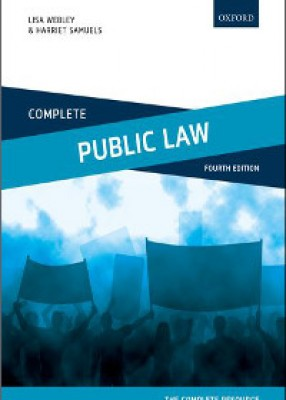 Complete Public Law: Text Cases & Materials (4ed)