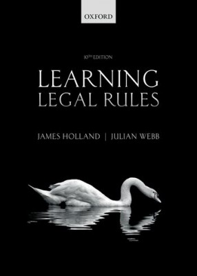 Learning Legal Rules (10ed)