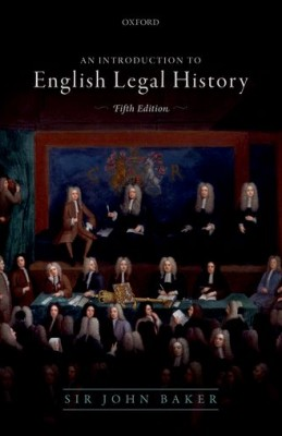 Introduction to English Legal History (5ed)