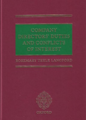 Company Directors' Duties and Conflicts of Interest