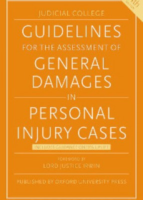 Judicial College (JSB) Guidelines for the Assessment of General Damages in Personal Injury Cases (14ed)