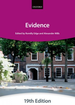 Bar Manual: Evidence (19ed)