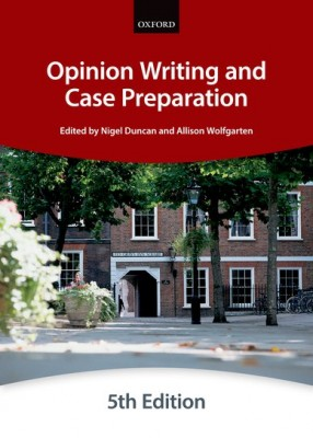 Bar Manual: Opinion Writing and Case Preparation (5ed)