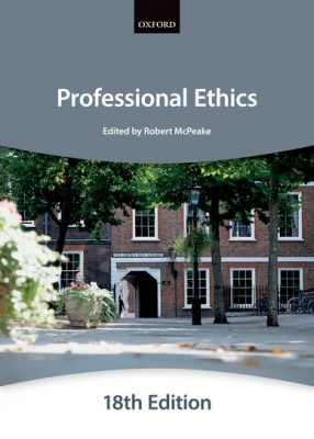 Bar Manual: Professional Ethics (18ed)