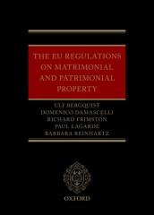 EU Regulations on Matrimonial and Patrimonial Property