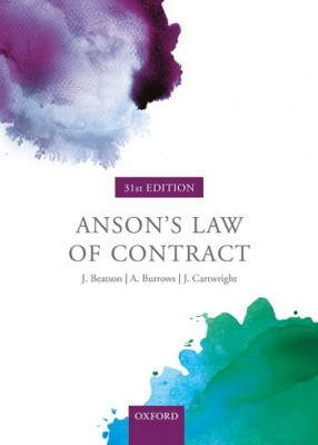 Anson's Law of Contract (31ed)