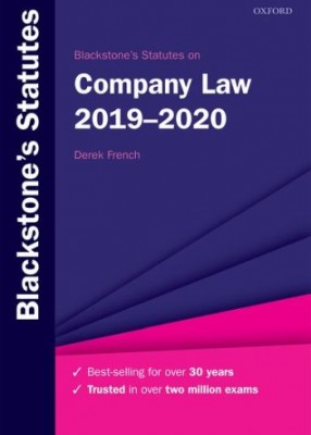 Blackstone's Statutes on Company Law 2019-2020