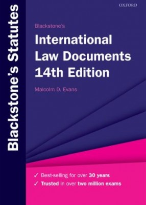 Blackstone's International Law Documents (14ed)