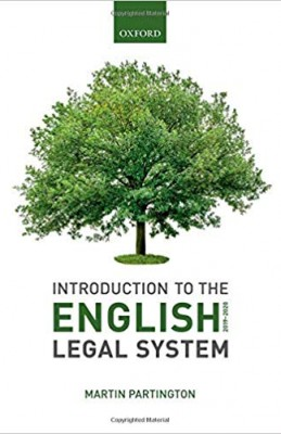 Introduction to the English Legal System 2019-2020 (14ed)