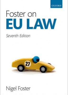Foster on EU Law (7ed)