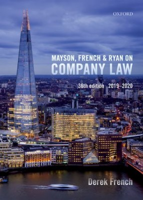 Mayson French & Ryan on Company Law (36ed)