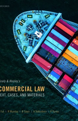 Commercial Law: Text, Cases and Materials (6ed)