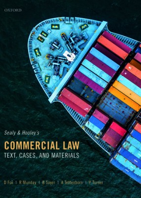 Commercial Law: Text, Cases and Materials 6ed