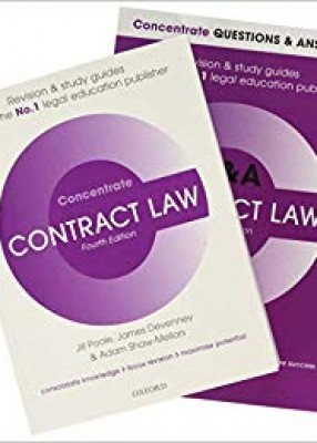 Contract Law Revision Concentrate Pack Law Revision and Study Guide