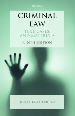 Criminal Law: Text Cases and Materials (9ed)