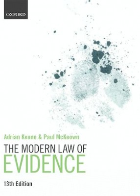 Modern Law of Evidence (13ed)