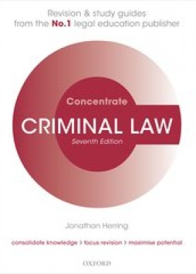 Criminal Law Concentrate (7ed)