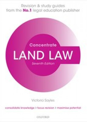 Land Law Concentrate (7ed)