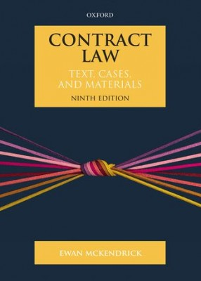 Contract Law: Text, Cases and Materials (9ed)