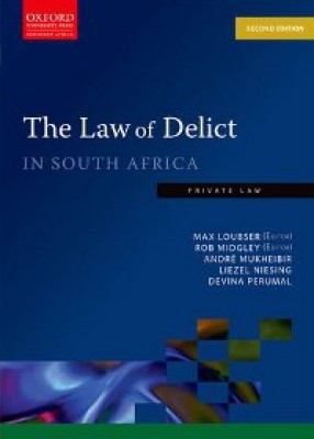Law of Delict in South Africa 2ed