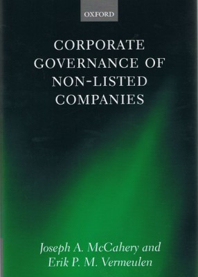 Corporate Governance of Non-Listed Companies