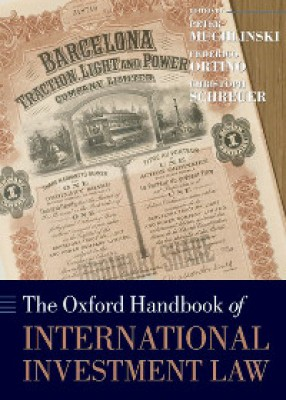 Oxford Handbook International Investment Law