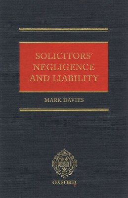 Solicitors' Negligence & Liability