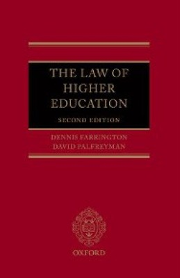 Law of Higher Education (2ed)