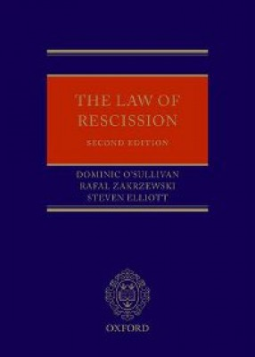 Law of Rescission (2ed)