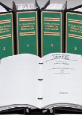 International Commercial Arbitration (looseleaf)