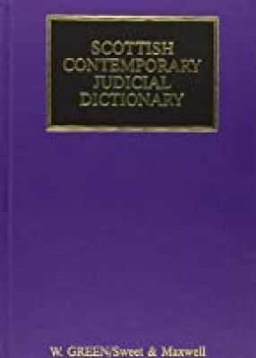 Scottish Contemporary Judicial Dictionary