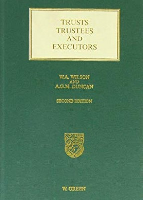 Trusts, Trustees and Executors (2ed)