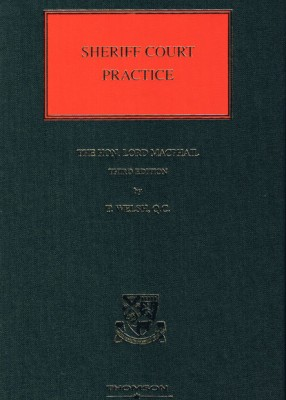 Macphail's Sheriff Court Practice (3ed)