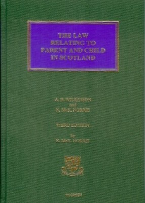Law Relating to Parent & Child in Scotland (3ed)