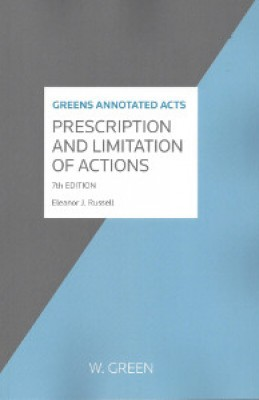 Prescription and Limitation of Actions (7ed)