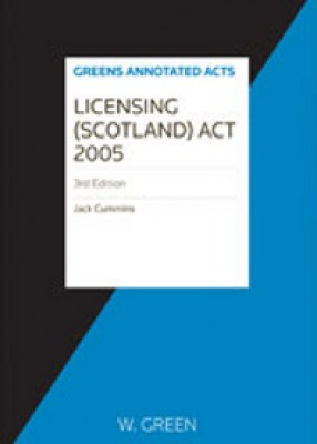 Licensing (Scotland) Act 2005 (3ed)