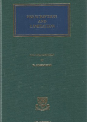 Prescription & Limitation of Actions (2ed)