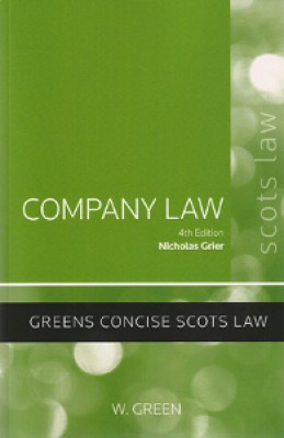 Company Law (4ed)