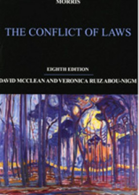 Morris: The Conflict of Laws (8ed)