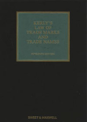 Kerly's Law of Trade Marks & Trade Names (15ed+Supplement) SET