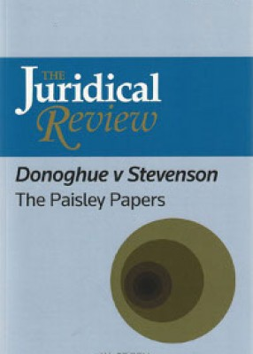 Juridical Review: Donoghue v Stevenson - The Paisley Papers
