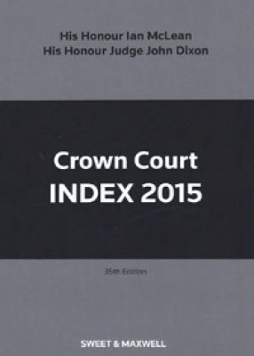 Crown Court Index 2015 (35ed)